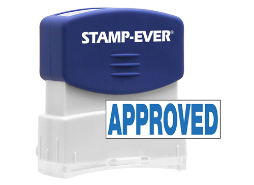 Stock Title Stamp - Approved