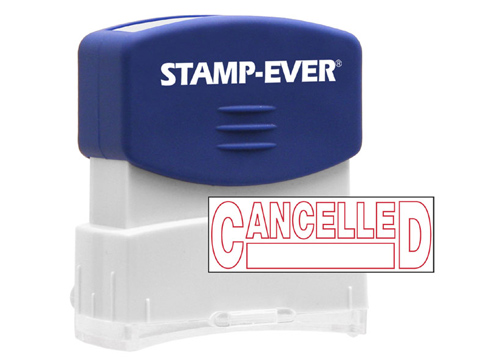 Stock Title Stamp - Cancelled
