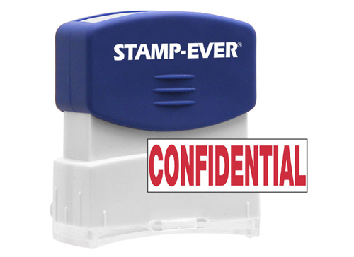 Stock Title Stamp - Confidential