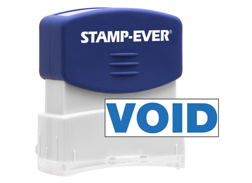Stock Title Stamp - Void