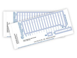 Business Deposit Tickets - Book Bound 2 Part