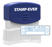 Stock Title Stamp - Completed
