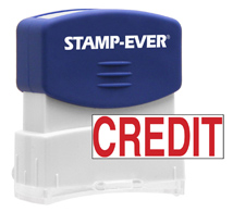 Stock Title Stamp - Credit