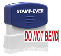 Stock Title Stamp - Do Not Bend