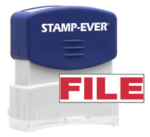Stock Title Stamp - File