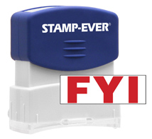 Stock Title Stamp - FYI
