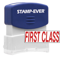 Stock Title Stamp - First Class