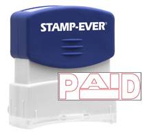 Stock Title Stamp - Paid