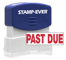 Stock Title Stamp - Past Due