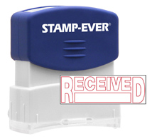 Stock Title Stamp - Received