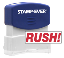 Stock Title Stamp - Rush!
