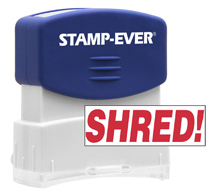 Stock Title Stamp - Shred!